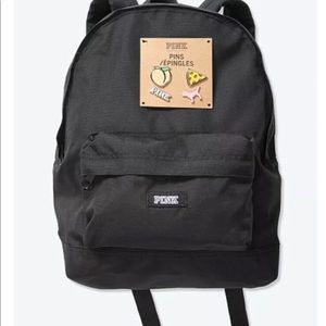 New Victoria's Secret Mini Backpack With 4 Pins